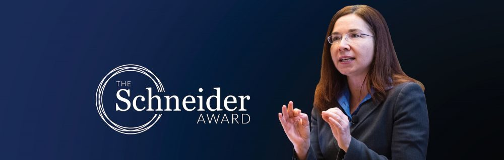 2018 Stephen H. Schneider Award for Outstanding Climate Science Communication Bestowed upon Dr. Katharine Hayhoe